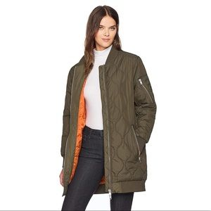 NWT French Connection Ardis puffer bomber jacket